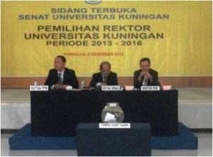 pemilihan rektor
